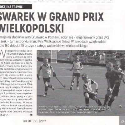 Grand Prix Wielkopolski - 3 turniej