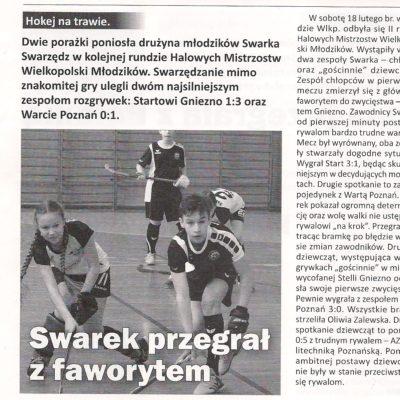 Halowe Mistrzostwa Wielkopolski Młodzików 2017