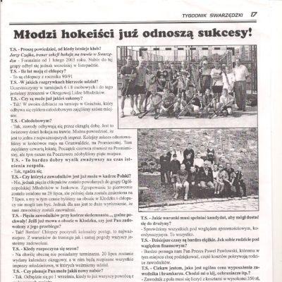 Pierwszy wywiad z CZajką