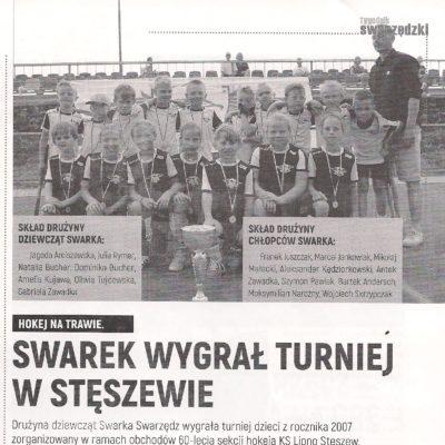 Turniej z okazji 60-lecia KS Lipno Stęszew