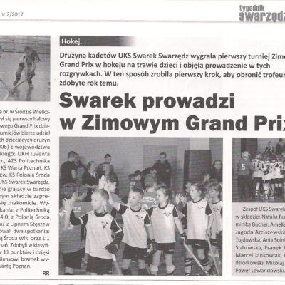 Zimowe Grand Prix - 1 turniej 2017